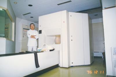 前院長と2台目MRI